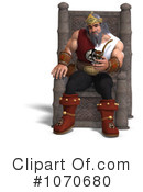 Royalty-Free (RF) Viking Clipart Illustration #1070680