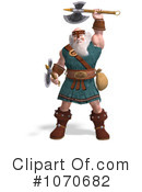 Royalty-Free (RF) Viking Clipart Illustration #1070682
