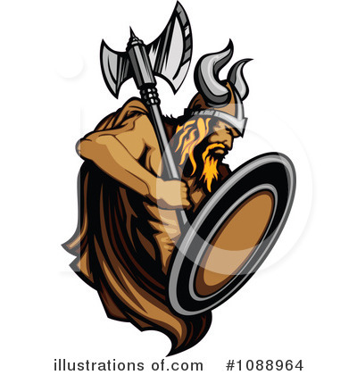 Viking Clipart #1088964 by Chromaco