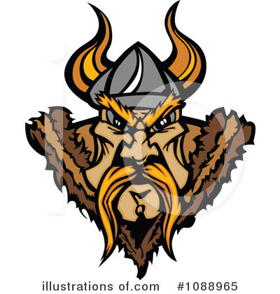 Viking Clipart #1088965 by Chromaco