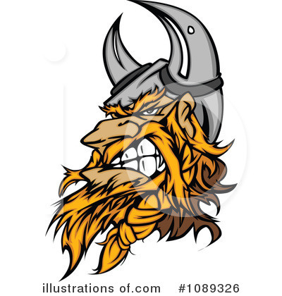 Viking Clipart #1089326 by Chromaco