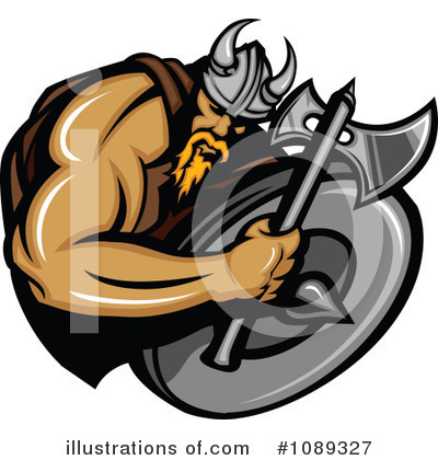 Viking Clipart #1089327 by Chromaco