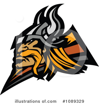Royalty-Free (RF) Viking Clipart Illustration by Chromaco - Stock Sample #1089329