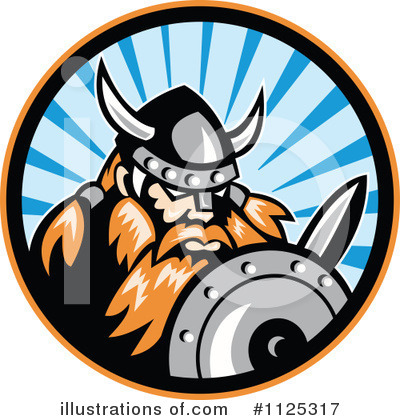 Viking Clipart #1125317 by patrimonio