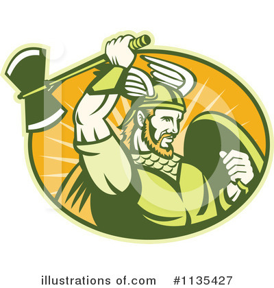 Viking Clipart #1135427 by patrimonio