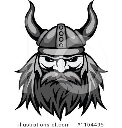 Viking Clipart #1154495 by Vector Tradition SM