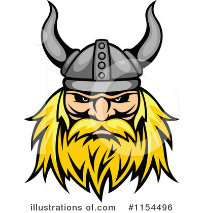 Viking Clipart #1154496 by Vector Tradition SM