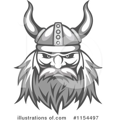 Viking Clipart #1154497 by Vector Tradition SM
