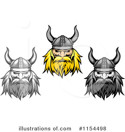 Viking Clipart #1154498 by Vector Tradition SM