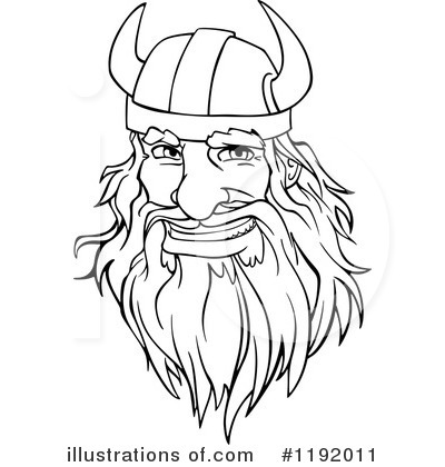 Viking Clipart #1192011 by Vector Tradition SM