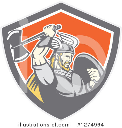Viking Clipart #1274964 by patrimonio