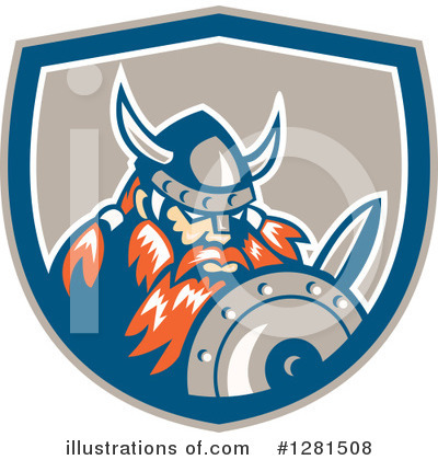 Viking Clipart #1281508 by patrimonio
