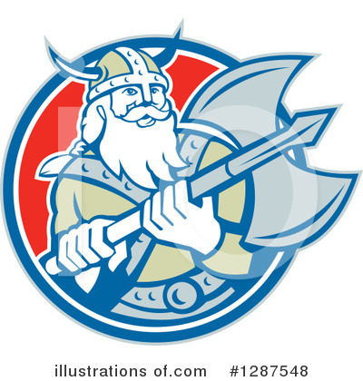 Viking Clipart #1287548 by patrimonio