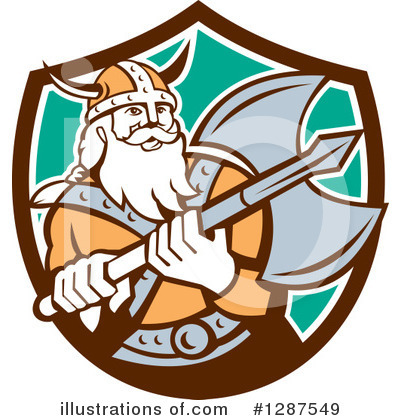 Viking Clipart #1287549 by patrimonio