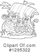 Viking Clipart #1295322 by visekart