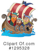 Viking Clipart #1295328 by visekart