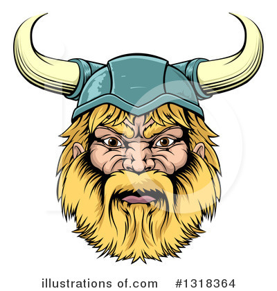 Viking Clipart #1318364 by AtStockIllustration