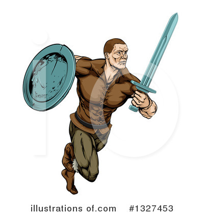 Viking Clipart #1327453 by AtStockIllustration