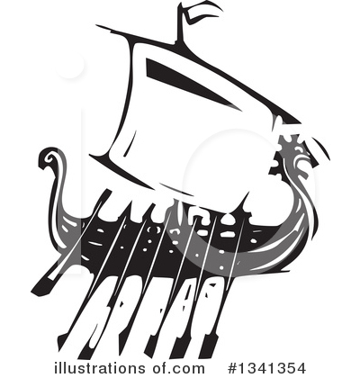 Viking Clipart #1341354 by xunantunich