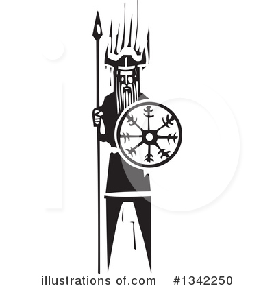 Viking Clipart #1342250 by xunantunich