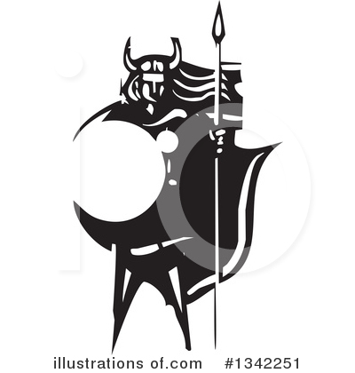 Viking Clipart #1342251 by xunantunich