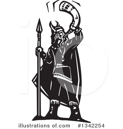 Royalty-Free (RF) Viking Clipart Illustration by xunantunich - Stock Sample #1342254