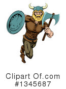 Royalty-Free (RF) Viking Clipart Illustration #1345687