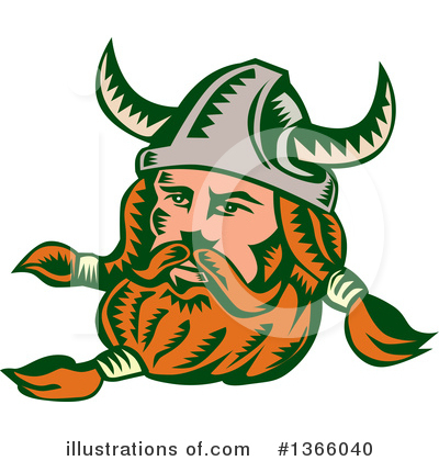 Viking Clipart #1366040 by patrimonio