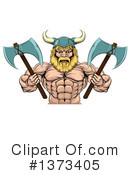 Viking Clipart #1373405 by AtStockIllustration