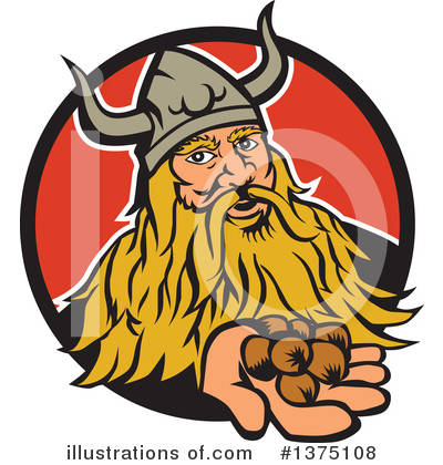 Viking Clipart #1375108 by patrimonio