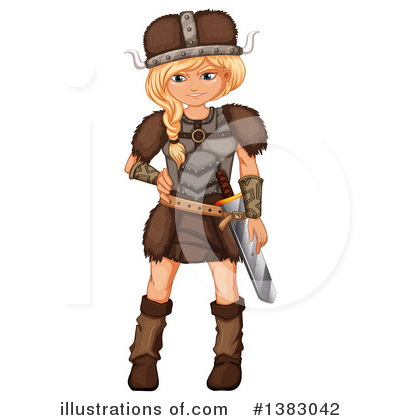 Viking Clipart #1383042 by Graphics RF