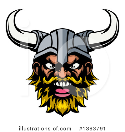Viking Clipart #1383791 by AtStockIllustration