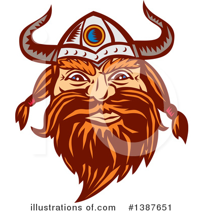 Viking Clipart #1387651 by patrimonio