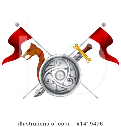 Viking Clipart #1419476 by Graphics RF