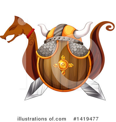 Viking Clipart #1419477 by Graphics RF