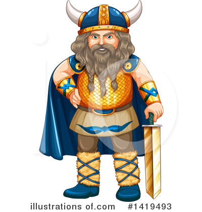 Viking Clipart #1419493 by Graphics RF