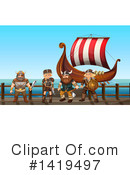 Viking Clipart #1419497 by Graphics RF