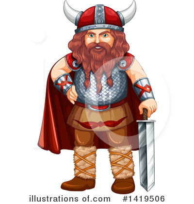 Viking Clipart #1419506 by Graphics RF