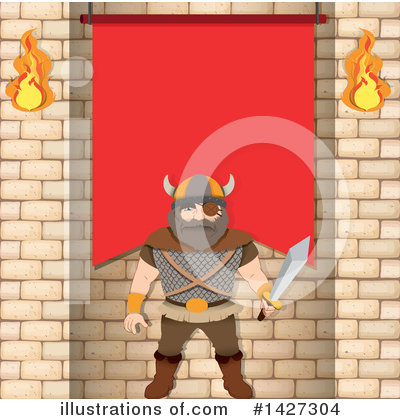Viking Clipart #1427304 by Graphics RF