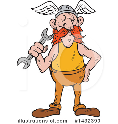 Viking Clipart #1432390 by patrimonio