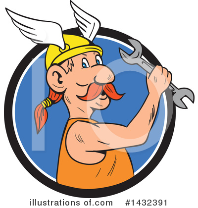 Viking Clipart #1432391 by patrimonio