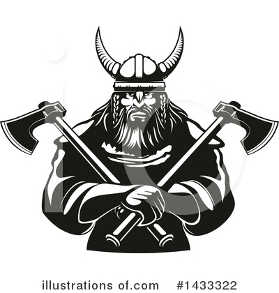 Viking Clipart #1433322 by Vector Tradition SM