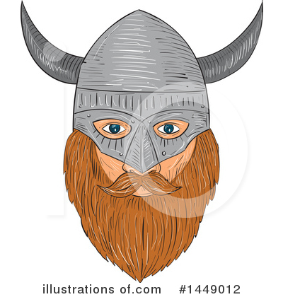 Viking Clipart #1449012 by patrimonio