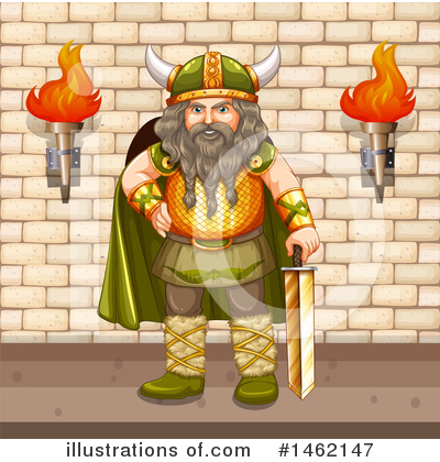 Viking Clipart #1462147 by Graphics RF