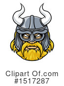 Royalty-Free (RF) Viking Clipart Illustration #1517287