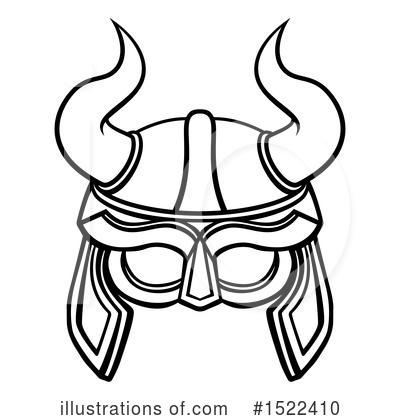 Viking Clipart #1522410 by AtStockIllustration