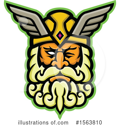 Royalty-Free (RF) Viking Clipart Illustration by patrimonio - Stock Sample #1563810