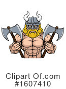 Viking Clipart #1607410 by AtStockIllustration