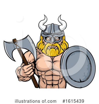Viking Clipart #1615439 by AtStockIllustration