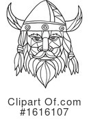 Viking Clipart #1616107 by patrimonio